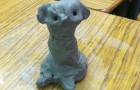 First Grade, Weeks 11 & 12:  Exploring Free Form Sculptures in Clay