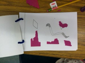 3rd Grade Week 3:  Sketchbook Exercise in Shapes