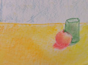 Still Life in chalk 5