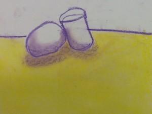 Still Life in chalk 6