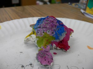 painted Turtle sculpture 5