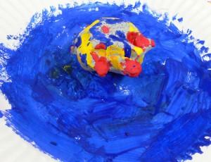 painted Turtle sculpture 8