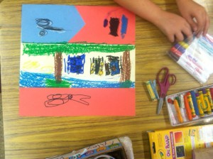 Kindergarten Weeks 9 & 10 ~ Studying Faith Ringgold and Our Story Quilts