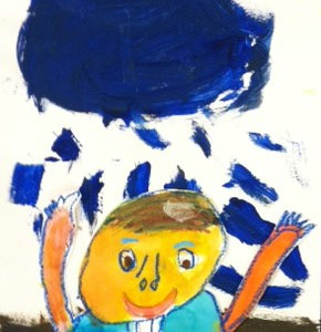 Kindergarten Weeks 6 & 7 ~ Exploring Self Portraits
